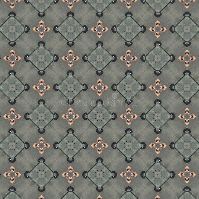 织品或内部墙纸的样式设计 向量例证