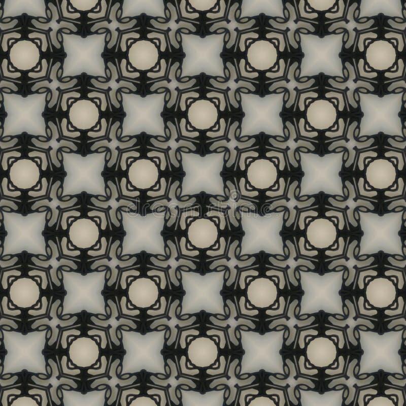 织品或内部墙纸的样式设计 库存例证