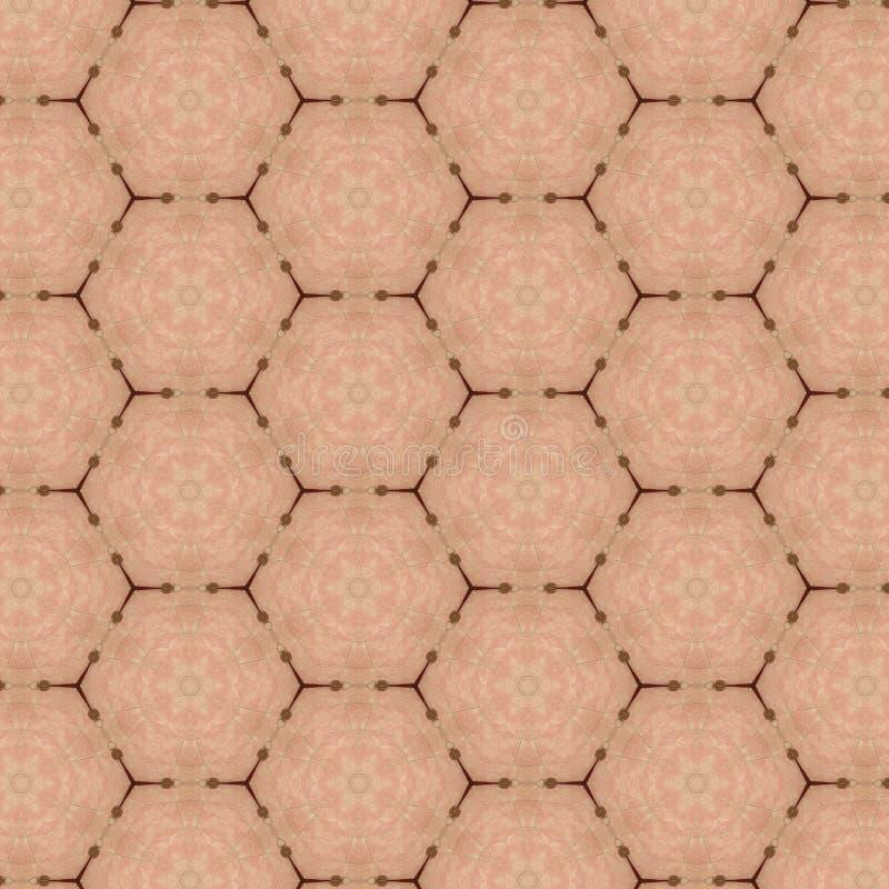 织品样式设计或内部墙纸样式 向量例证
