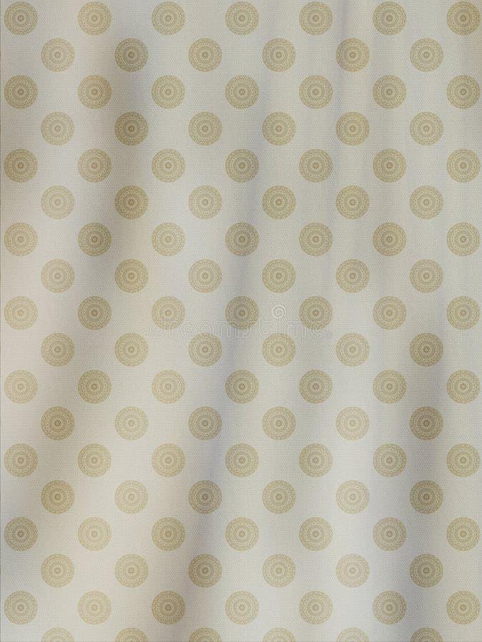 织品灰棕色背景 免版税图库摄影