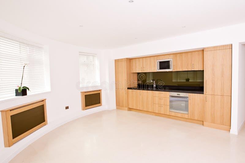 品牌厨房生存豪华新的空间 库存图片