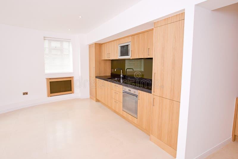 品牌厨房生存豪华新的空间 库存照片