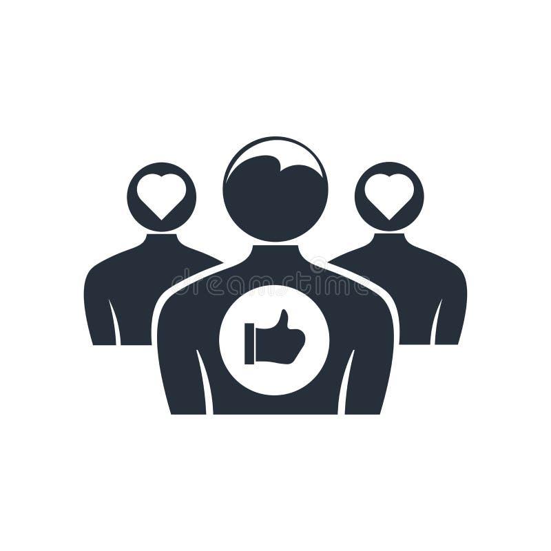 品牌订婚象在白色背景和标志隔绝的传染媒介标志,品牌订婚商标概念 库存例证