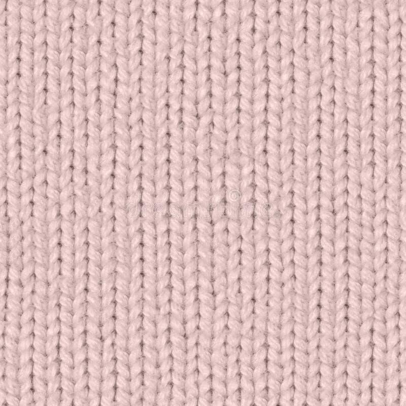 织品纹理7散开无缝的地图 脸红桃红色 免版税库存照片