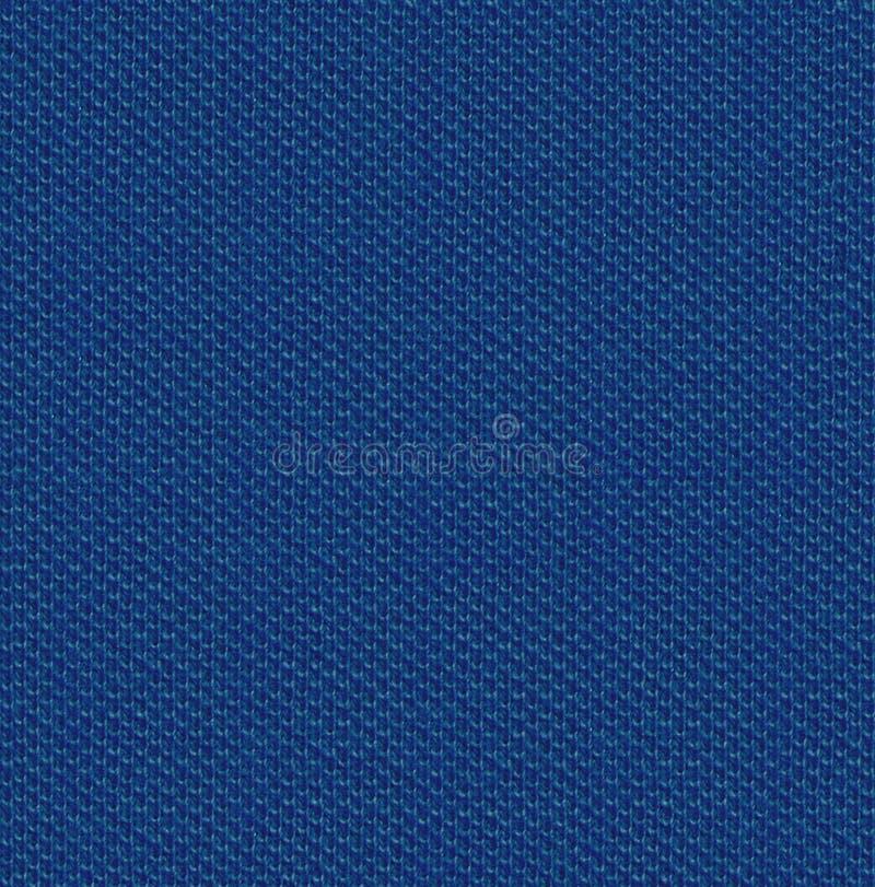 织品纹理3散开无缝的地图 钢青色 免版税库存照片