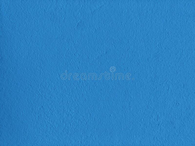 品蓝软的墙壁纹理 免版税库存图片