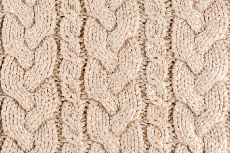 织品被编织的纹理 免版税库存照片