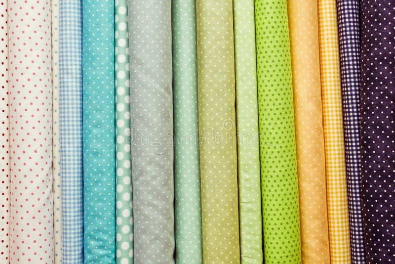织品颜色 免版税库存照片