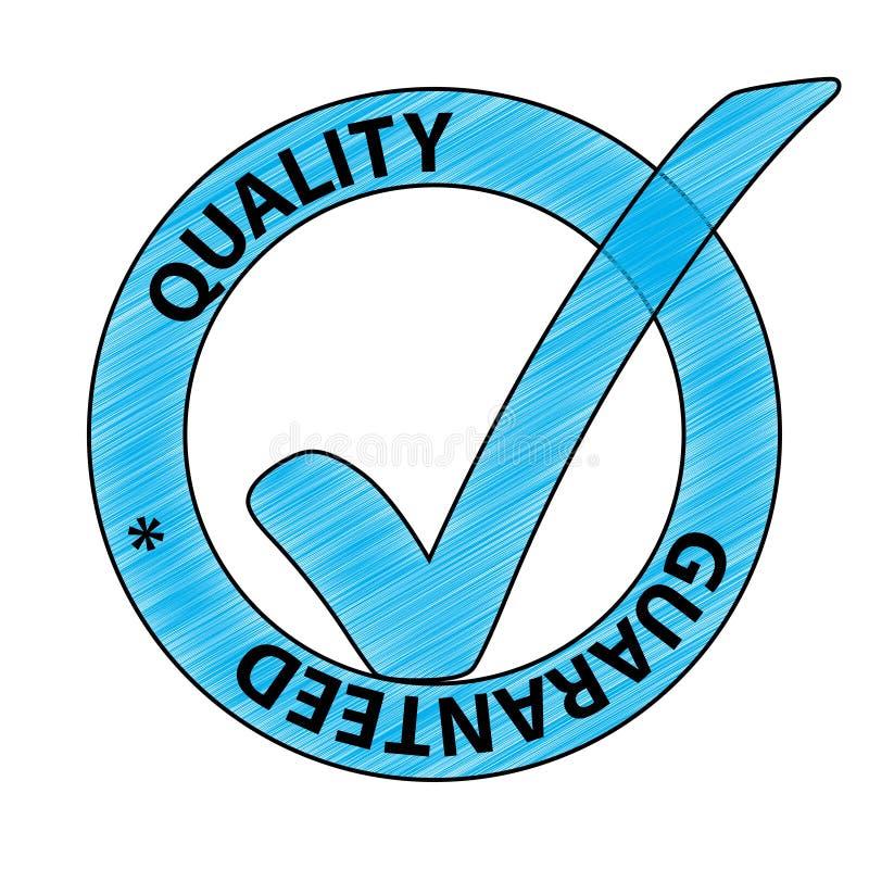 品质保证 库存例证