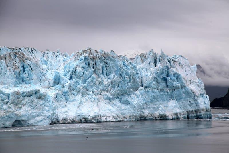 哈伯德冰川,阿拉斯加 免版税图库摄影