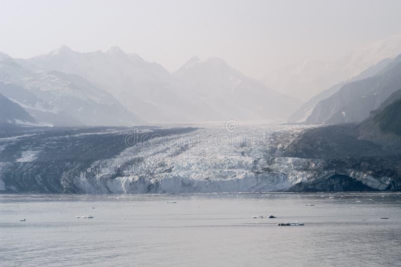 哈伯德冰川-阿拉斯加 免版税图库摄影