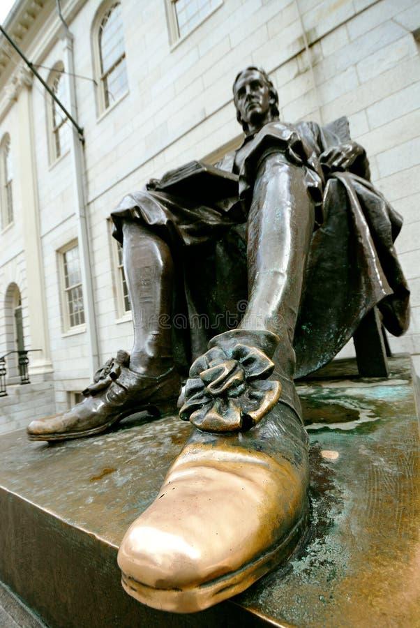 哈佛约翰幸运的鞋子 免版税图库摄影