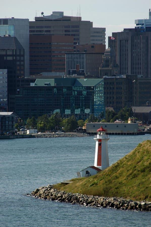 哈利法克斯港口 免版税库存图片