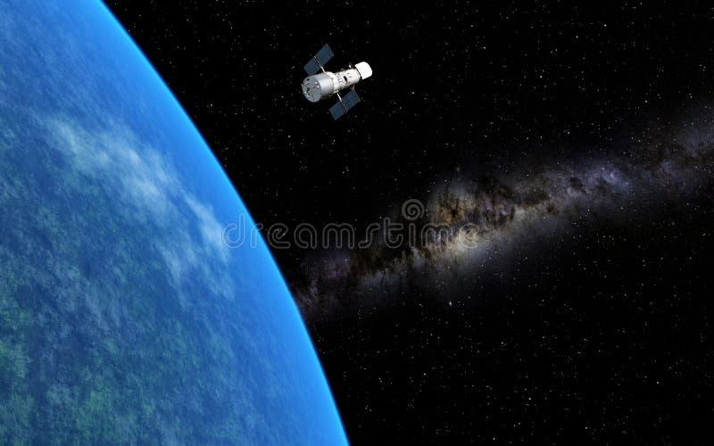 哈勃望远镜 免版税图库摄影