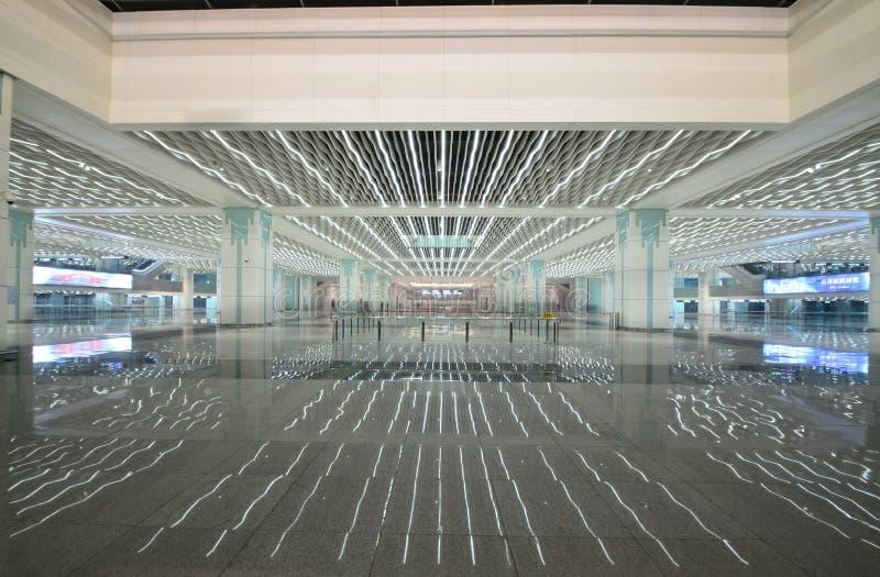 哈尔滨西方火车站 图库摄影
