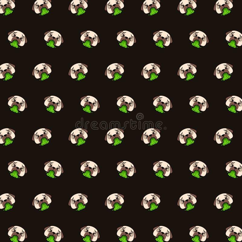 哈巴狗- emoji样式55 皇族释放例证