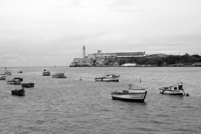 哈瓦那港口 库存图片