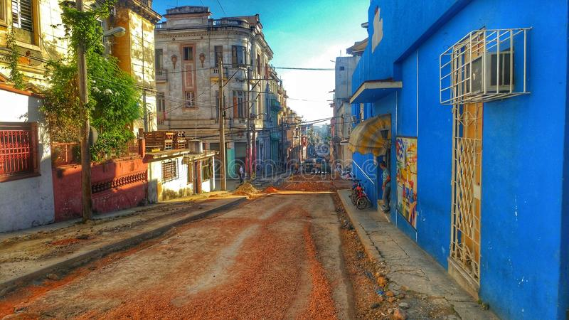 哈瓦那街 免版税库存图片