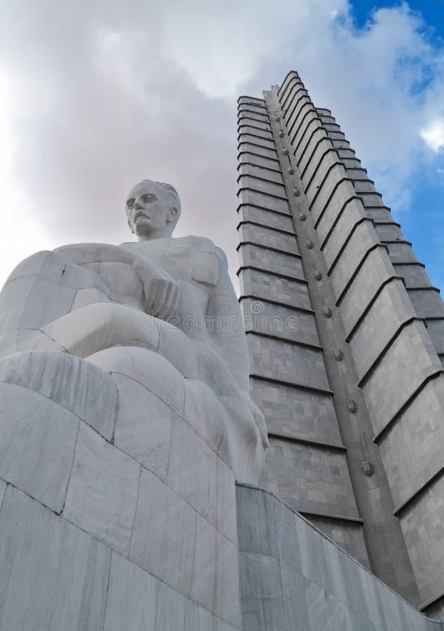 哈瓦那jose marti纪念品 免版税库存照片