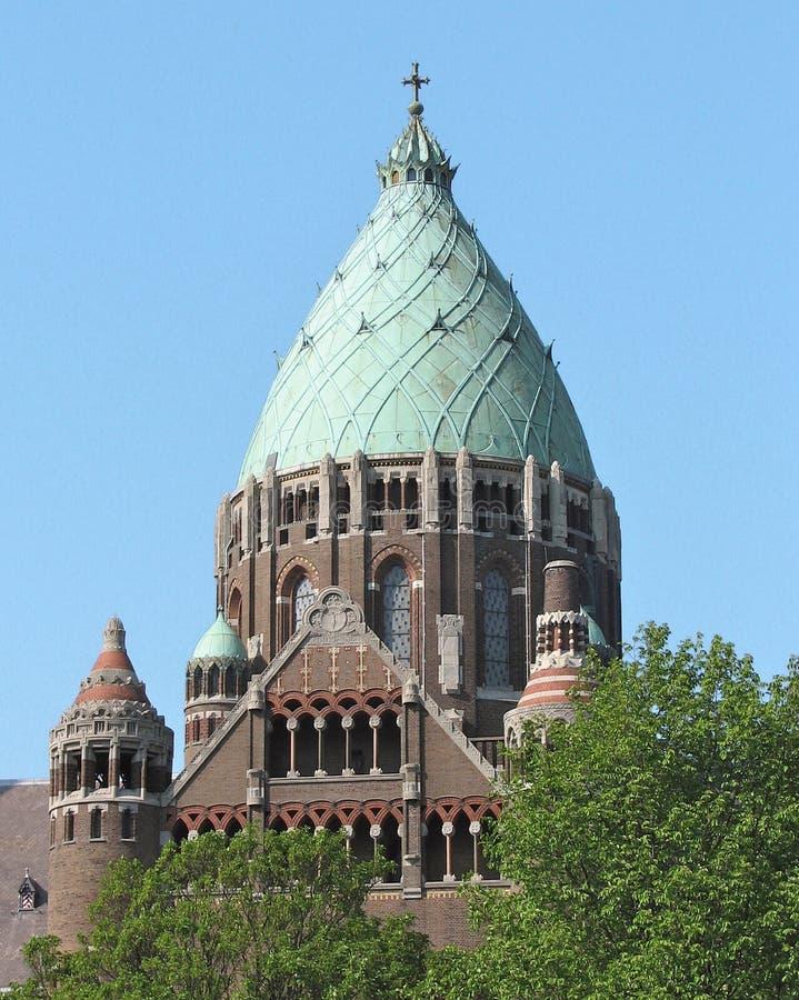 哈莱姆,荷兰圆顶  免版税库存图片