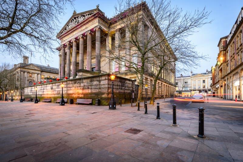 哈里斯博物馆普雷斯顿兰开夏郡英国 免版税库存照片