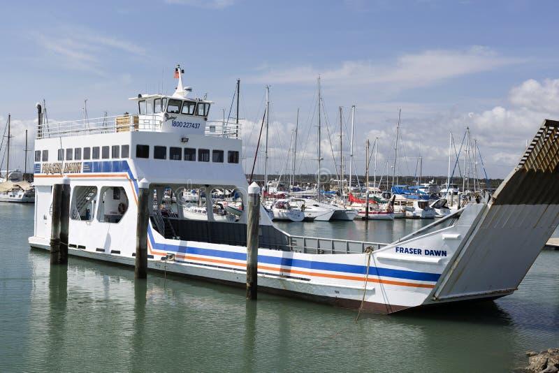 哈维海湾小游艇船坞 免版税库存照片