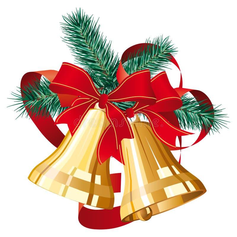 响铃圣诞节 库存例证