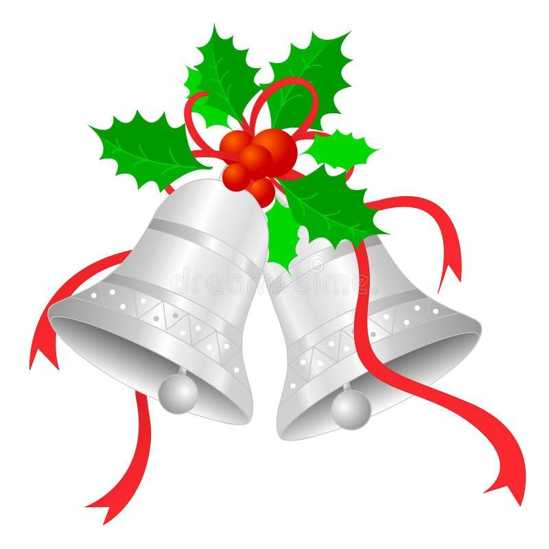 响铃圣诞节 向量例证