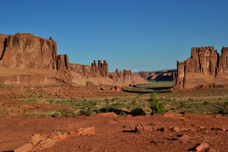 响铃岩石山在Sedona亚利桑那 免版税库存图片