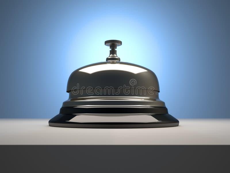 响铃接收 向量例证
