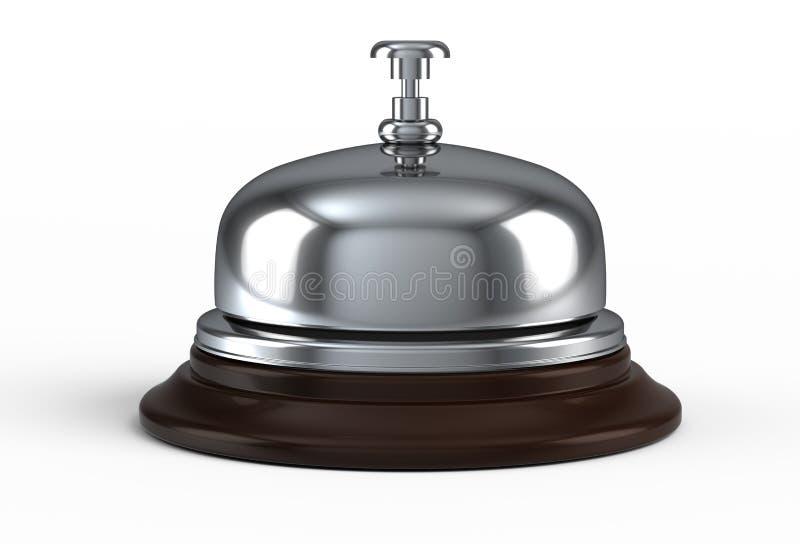 响铃接收 库存例证