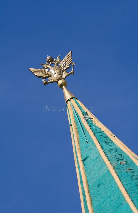 响铃kolomenskoye莫斯科俄国尖顶塔 库存照片