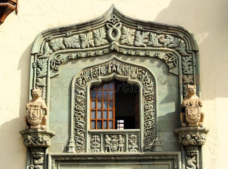 哥伦布之家 免版税图库摄影