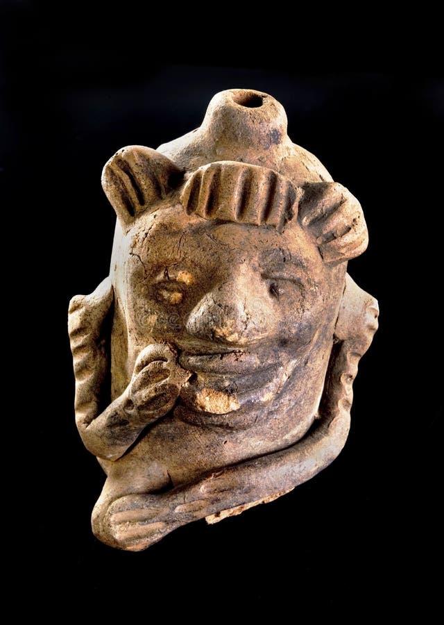 哥伦布发现美洲大陆以前猴子口哨 图库摄影
