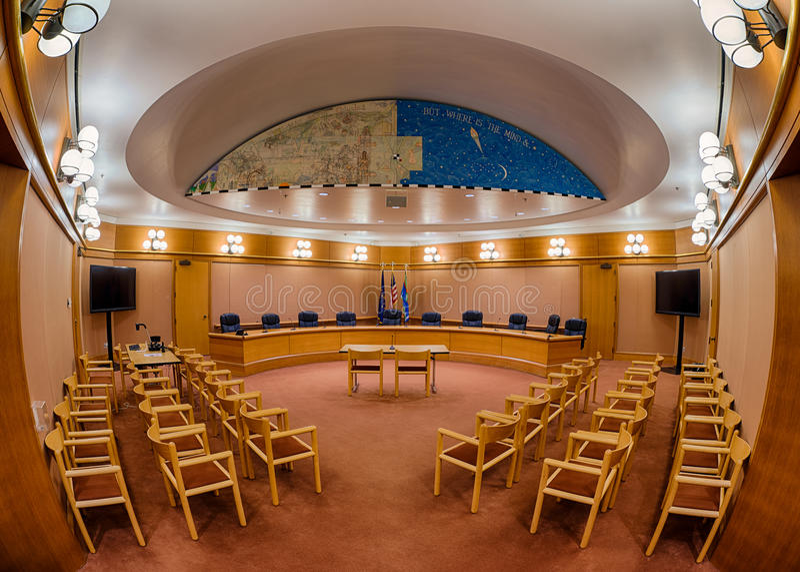 哥伦布市议会 免版税库存图片
