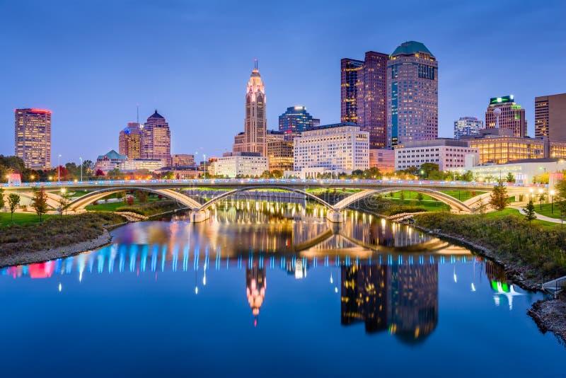 哥伦布,俄亥俄,美国 图库摄影