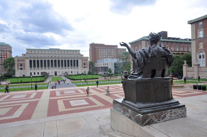哥伦比亚大学在纽约 库存图片