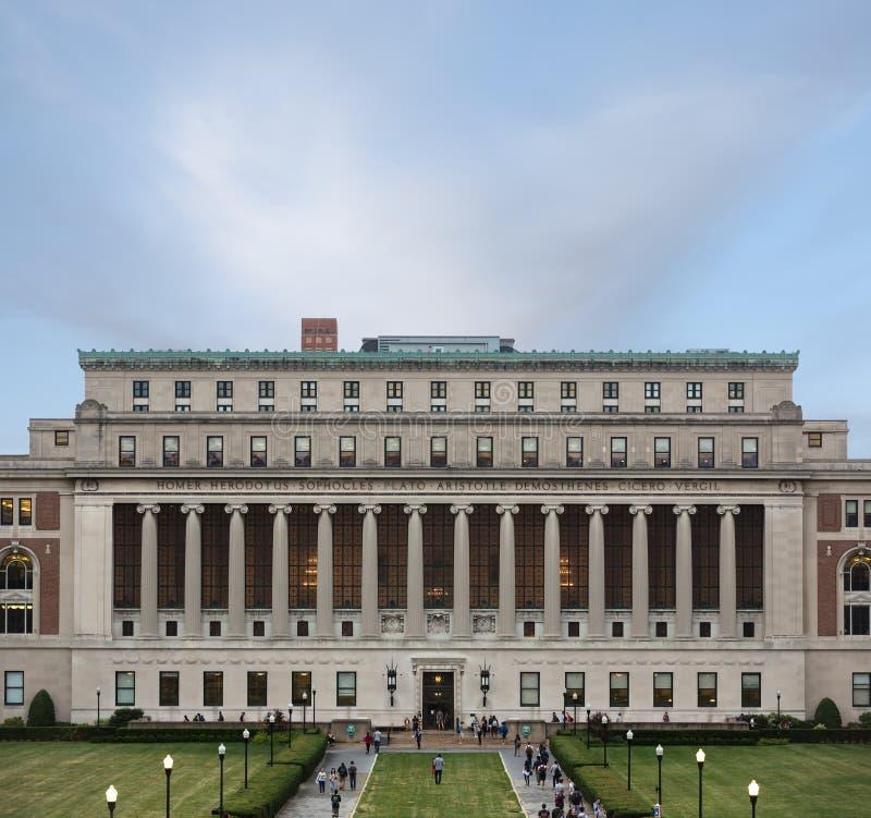 哥伦比亚大学,纽约,美国 库存图片