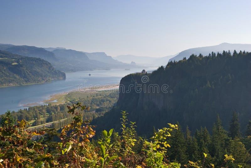 哥伦比亚峡谷俄勒冈 库存照片