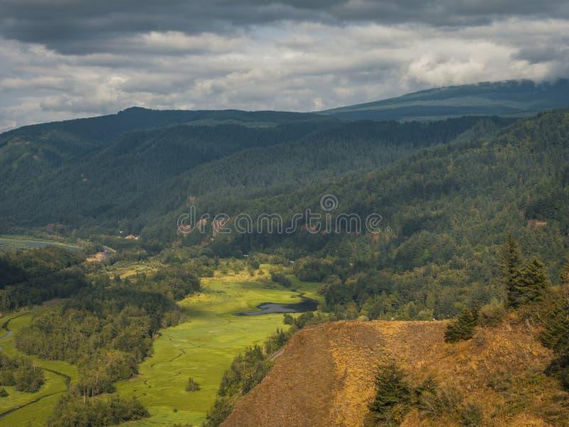 哥伦比亚峡谷 图库摄影