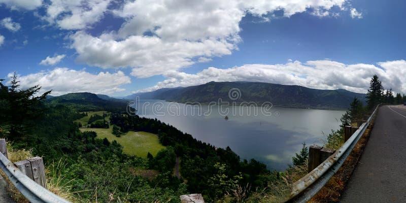 哥伦比亚河 免版税图库摄影