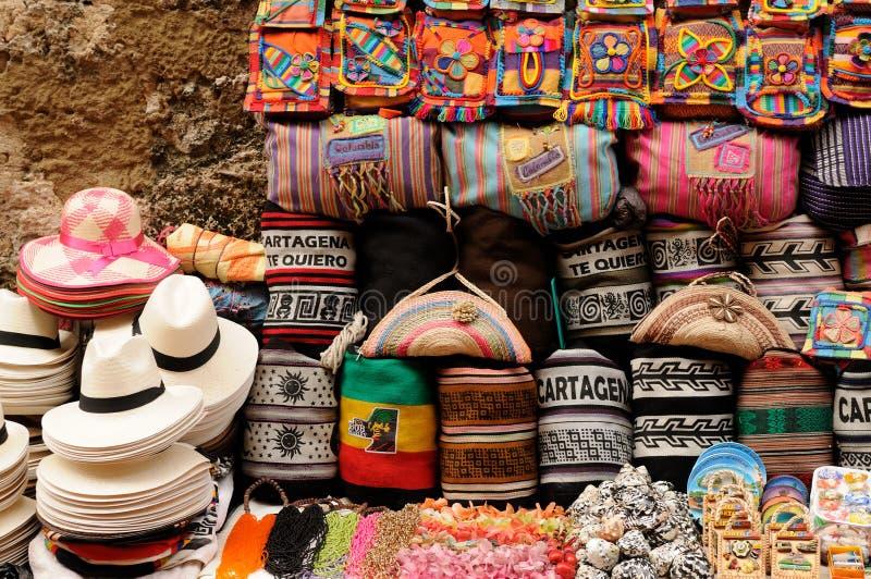 从哥伦比亚的纪念品 图库摄影