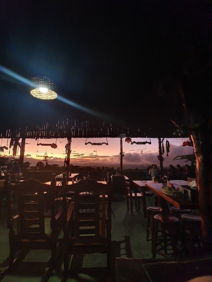 哥斯达黎加冠 免版税库存照片