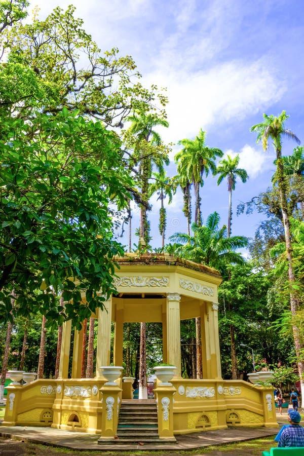哥斯达黎加利蒙港城市公园瓦尔加斯公园 库存图片