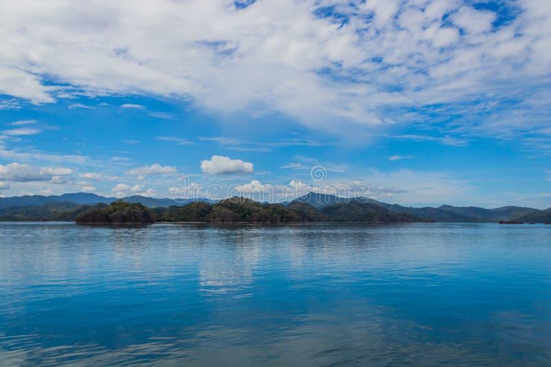 哥斯达黎加的半岛海岛 库存照片