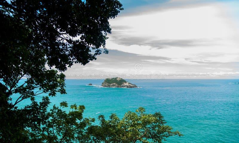 哥斯达黎加海洋 免版税库存图片