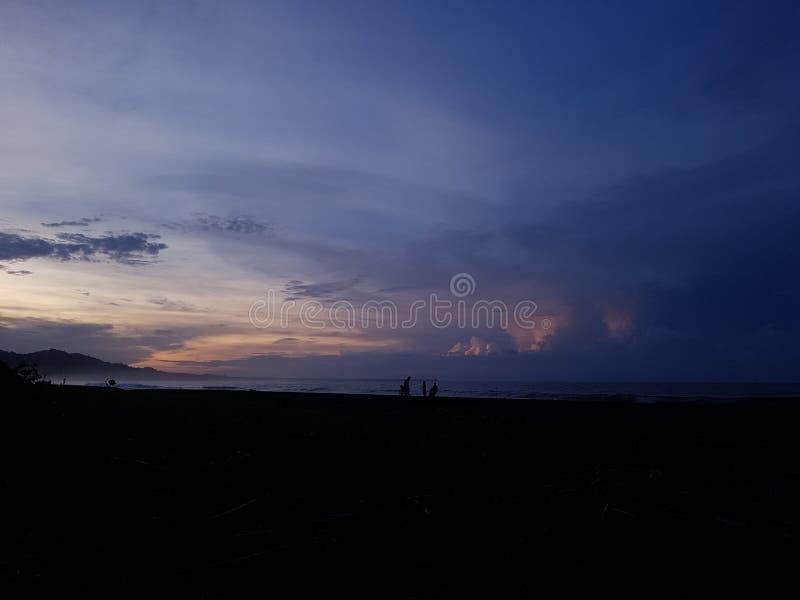 哥斯达黎加的秀丽 免版税库存照片