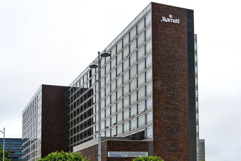 哥本哈根万豪旅馆 免版税库存照片