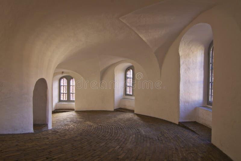 哥本哈根丹麦来回塔 库存照片
