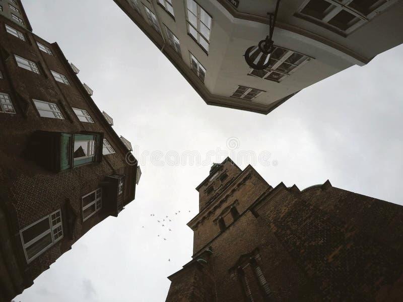 哥本哈根角落 免版税库存图片